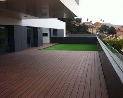 Terraza tarima composite