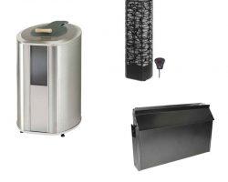 Saunas, baños turcos, spas, accesorios y repuestos